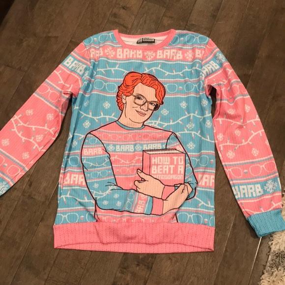 Stranger Things Christmas Sweater.Nwot Stranger Things Ugly Christmas Sweater